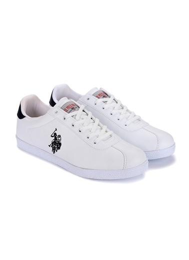 U.S. Polo Assn. U.S. Polo Assn. Tabor WT Günlük Erkek Spor Ayakkabı Beyaz